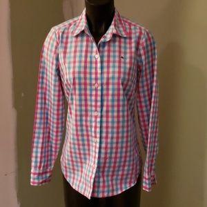 Vineyard Vines Long Sleeve Button Down Shirt